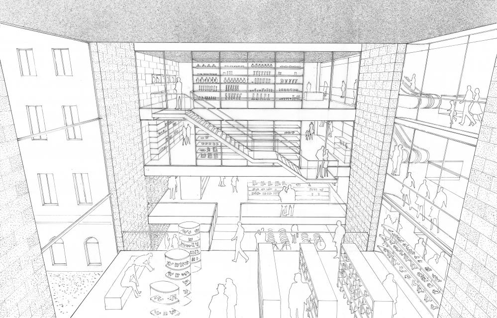 Kaufhaus in Brno | Entwurf | Thomas Gröschke