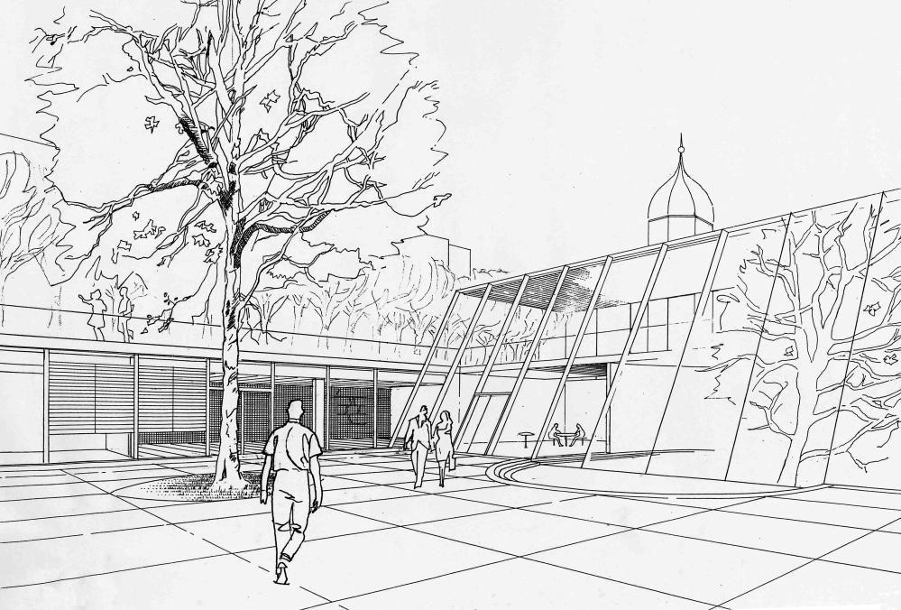 Erweiterung Museum für Säschsische Volkskunst, Dresden | Entwurf | Thomas Gröschke