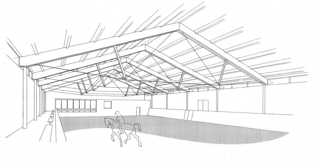 Reithalle in Moritzburg | Entwurf | Thomas Gröschke